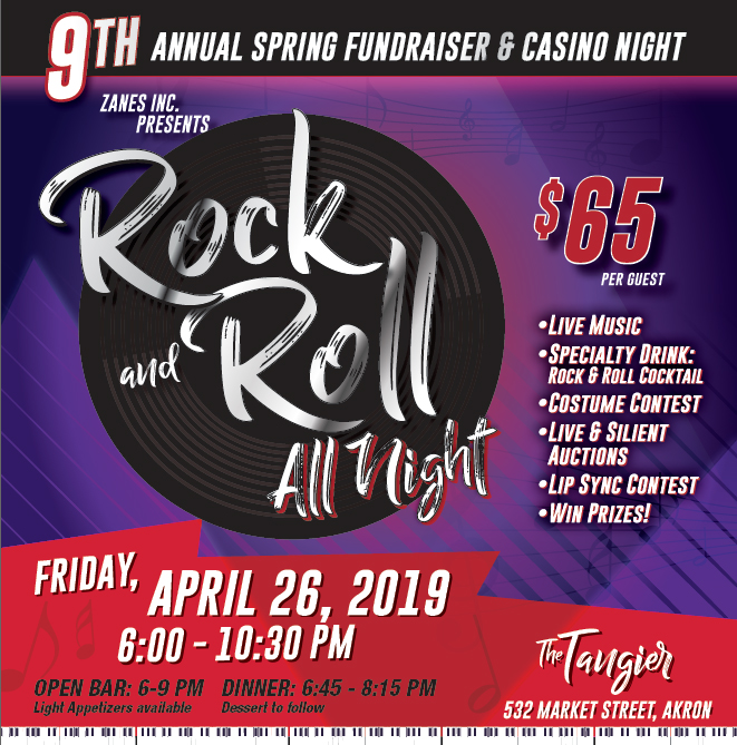 Rock and Roll All Night - 9th Annual Spring Fundraiser and Casino Night